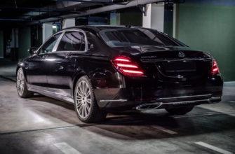 Прокат Mercedes-Benz S-222