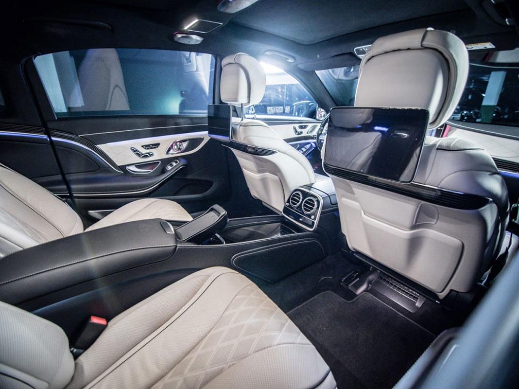 Аренда Mercedes Maybach с водителем