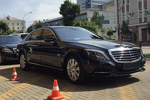 Аренда Mercedes S-Class с водителем