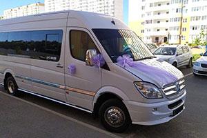 Аренда микроавтобуса Mercedes Sprinter с водителем